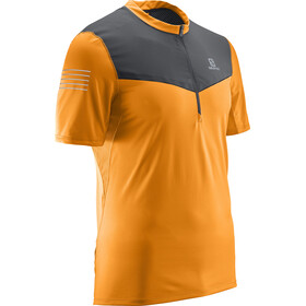 Salomon Fast Wing SS Tee Men Turmeric/Forged Iron